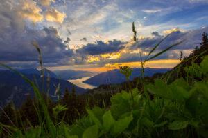 Die schöne Landschaftsaufnahme ist das Titelbild vom Blende-16 Fotokurs Landschaftsfotografie.